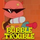 بازی آنلاین Bubble Trouble مشکل حباب
