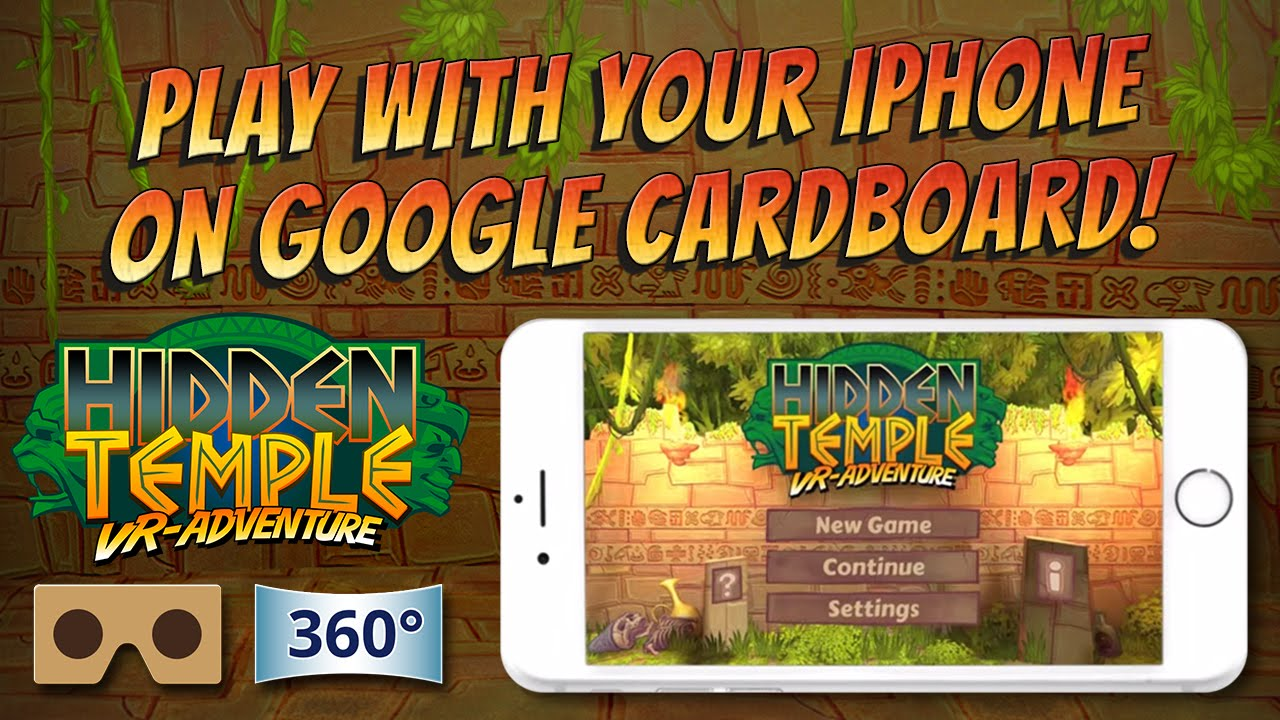 بازی اندروید Hidden Temple – VR Adventure