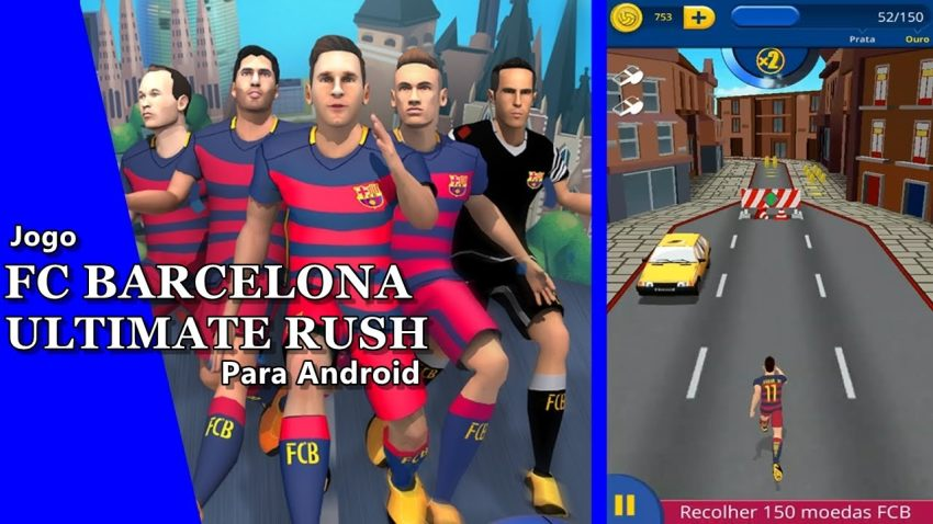 بازی اندروید FC Barcelona Ultimate Rush (1)