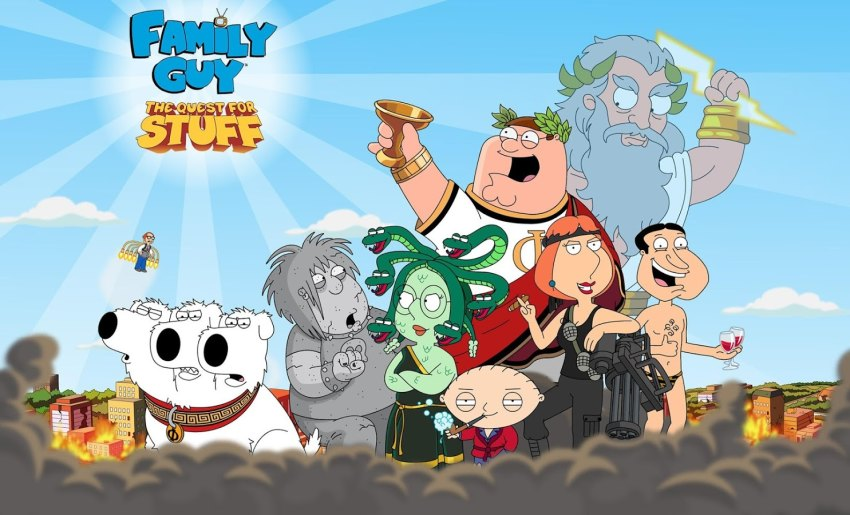 بازی اندروید Family Guy The Quest for Stuff