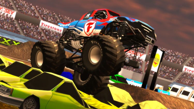 بازی اندروید Monster Truck Destruction