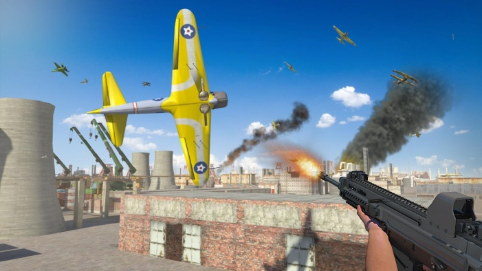 Airplane Shooter 3D