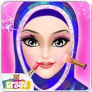 Hijab Girl Salon