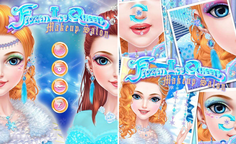frozen-ice-queen-makeup-salon
